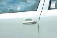 Накладки на ручки Volkswagen Caddy (Фольксваген кадди), 3шт нерж. CARMOS