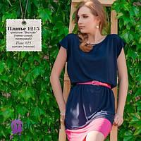 Летнее женское платье из трикотажа Вискоза