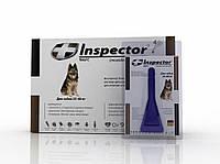 Inspector  - капли от внешних и внутренних паразитов для собак 25-40 кг