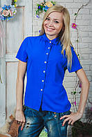 Блуза женская электрик, фото 1