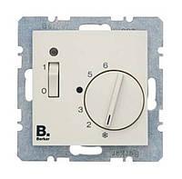 Регулятор температуры помещения 24В Berker S.1 Белый (20318982)