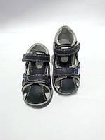 Босоножки - сандалии для мальчика серые C-T60-32