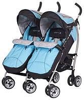 Детская прогулочная коляска для двойни EASY GO COMFORT DUO