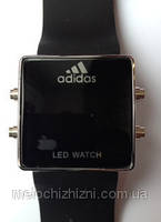 Часы  Адидас Adidas 1597 черные (Арт. 1597)