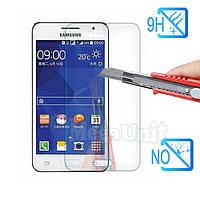 Защитное стекло для экрана Samsung Galaxy Core 2 G355 твердость 9H, 2.5D (tempered glass)