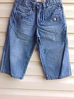 Подростковые джинсовые бриджи для мальчиков Летние