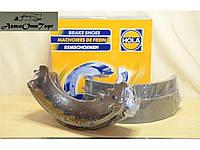 Колодка тормозная задняя на ВАЗ 2101, model: BR-801, производство: Hola, каталожный номер: BR-801; (комплект)