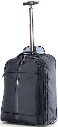 "Рюкзак на колесах для ноутбука 15,4"" CARLTON Wallstreet: 904J026;01 черный"