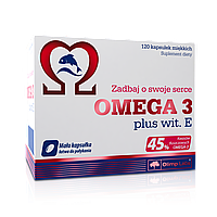 Жирные кислоты Olimp Omega3 plus vit.E 120 caps