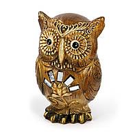 """Большая статуэтка сова """"OWL -хранитель времени"""" ZHS74171-A"""