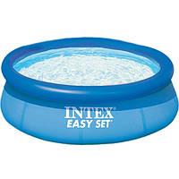 Бассейн надувной Intex 244x76 см