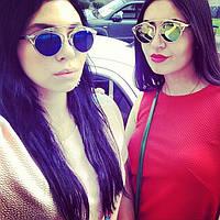 Солнцезащитные очки Dior синие  Женски очки Диор