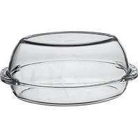 Утятница жаропрочное стекло 2л  с крышкой  Пашабахче 59062