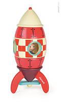 Janod - конструктор деревянная ракета на магните