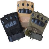 Тактические перчатки Oakley беспалые Biker, купить Киев
