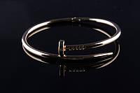 Модный браслет из металла Cartier