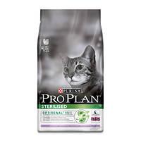 Сухой корм  для кастрированных кошек (индейка) PURINA Pro Plan (Про План) Sterilised Turkey 10кг