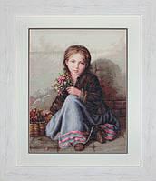 Набор для вышивки Luca-S B513 Портрет девочки