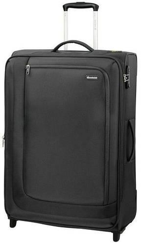 Двухколесный прочный чемодан-гигант 95/109 л. Carlton Clifton 901J375;01 черный