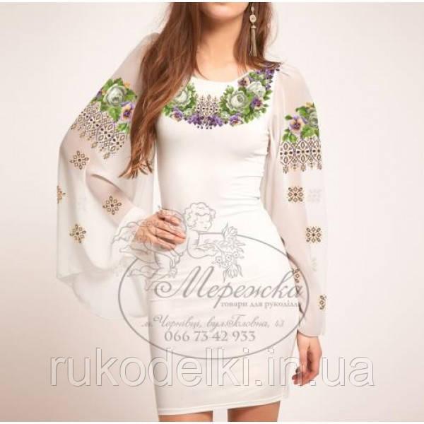 блузы крестиком Мережка