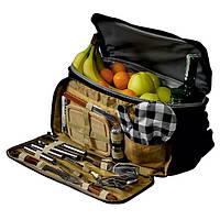 Термосумка Скаут в комплекте с походным набором для пикника