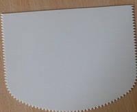 Скребок  для работы с кремом и мастикой гребешок (код 01026)