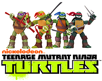 "Набор фигурок 4шт м\с ""Черепашки Ниндзя"" TMNT2012/Nickelodeon/13CM"