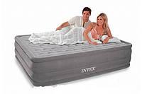 """Надувная кровать Intex 66958 """"Ultra Plush"""" (152х203х46см) с насосом 220В"""