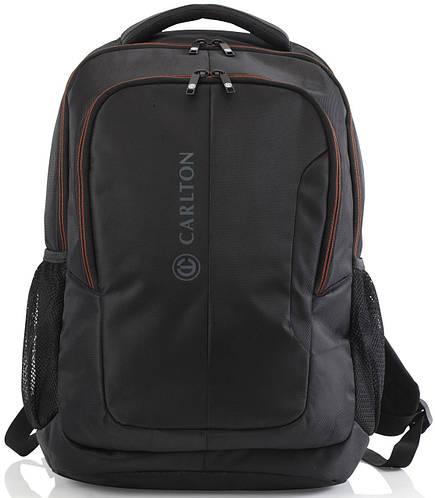 """Практичный рюкзак с отделением для ноутбука до 15,6"""" и планшета CARLTON Baron 910J120;01 черный"""