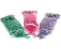 Color Coordinated Резинки для папильоток латексные