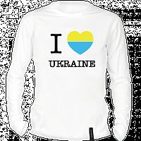 "Футболка я люблю Украину ""I love Ukraine"""