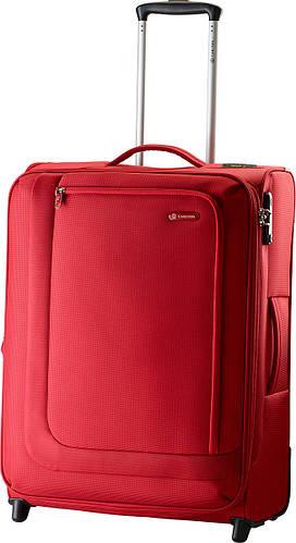 Малый тканевый чемодан 40/45 л. 2-х колесный Carlton Clifton 901J053;22 красный