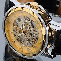Часы механические WINNER Gold Hollow