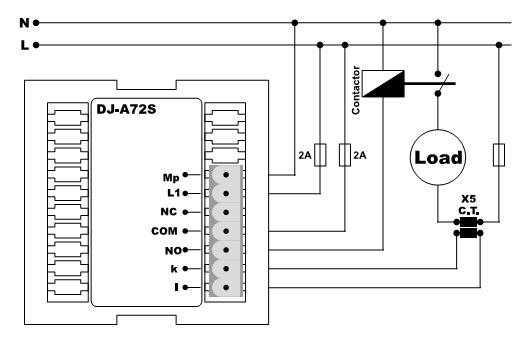 амперметр цифровой с контролем