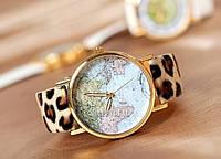 """Часы женские """"Мир"""" - леопардовые"""