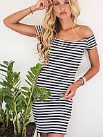 Платье тельняшка | Olivia sk