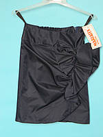 Школьная юбка MARIATEX прямая с драпировкой в виде банта