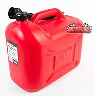Канистра пластиковая CarLife для бензина и дизеля с лейкой ➤ 20 литров