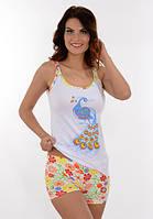 Женский домашний костюм / пижама с жар-птицей Onurel 755