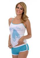 Женская летняя пижама в спортивном стиле Onurel 640