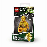 Брелок-фонарик Лего звездные войны C3PO LGL-KE18-BELL