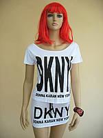 Женский летний комплект: футболка с надписью и мини-юбка, цвет серый и белый