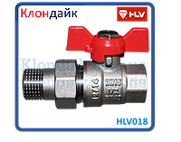 HLV Optima кран шаровой с американкой 3/4 PN40