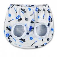 Трусы под памперс с мягкими резиночками для девочек и  мальчиков