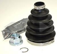 АНАЛОГ для Opel 1603276  GM 93182573 Пыльник наружнего (внешнего) ШРУСа полуоси в комплекте (пыльник+хомуты+смазка) L:123/D1=23/D2=77 ASTRA-HZAFIRA-B