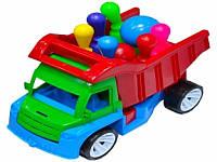 "Машина грузовик ""Алекс"" с кеглями и шаром ТМ Бамсик"