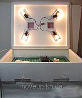 Инкубатор Наседка 140 яиц с механическим переворотом