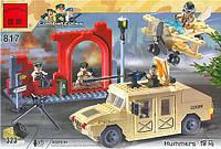 """Конструктор Brick 817 """"Военный хаммер"""""""