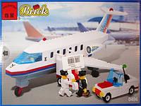 """Конструктор Brick 0496 """"Самолет"""""""