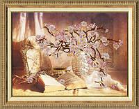Набор для вышивки Золотое Руно РТ-006 Цветущая сакура